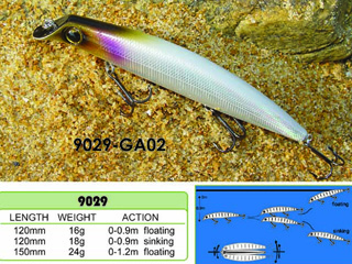 Hard Fishing Lure H9029