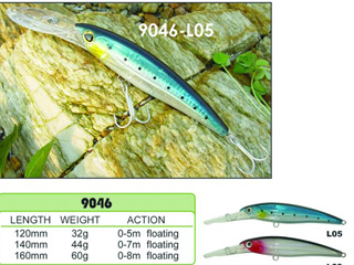 Hard Fishing Lure H9046
