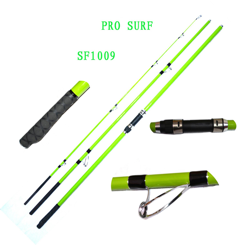 Full Caron 3PCS Surf Fishing Rod SF1009