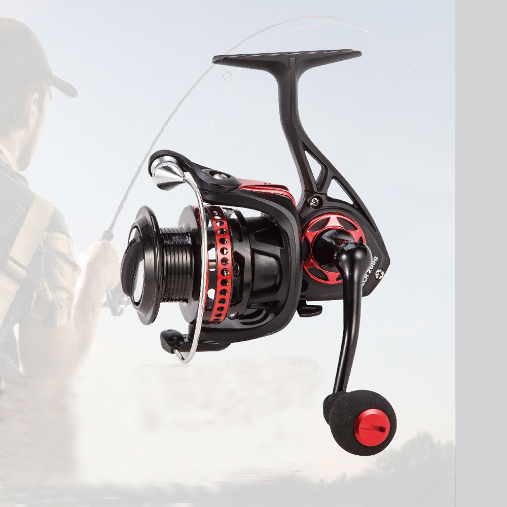 Full Al Body Spinning Reel EC1000 2000 3000 4000
