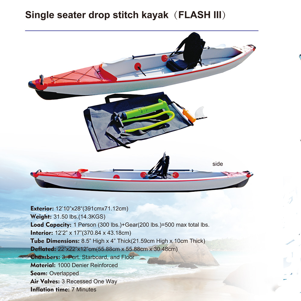 Inflatable Dropsitch Single Seater  Kayak