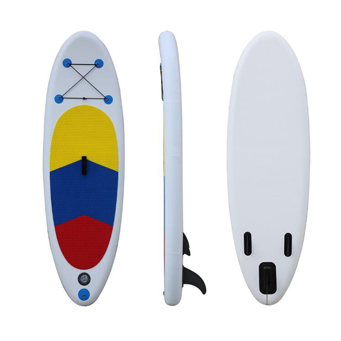 9` Inflatable Drop Dropstitch Stand Up Paddle Board Wave Power SUP Surfboard